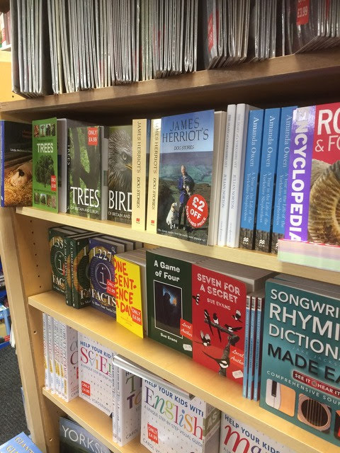 Our Books on sale in Henry Roberts Bookshop